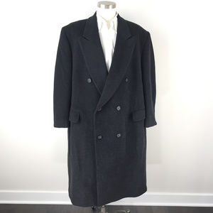 Racquet Club Cashmere Blend Top Coat Overcoat 48 R